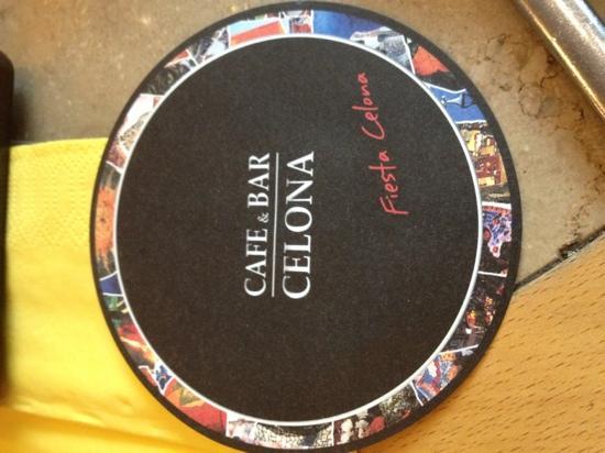 Cafe & Bar Celona: excellent service