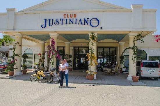 Justiniano Club Alanya: Ресепшн