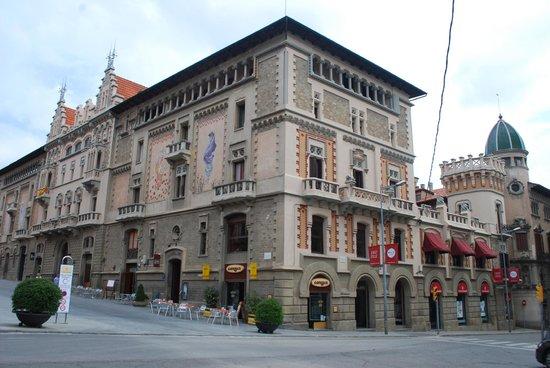 Magda Subirana: The majestic Casino building - restaurant is on 1st floor