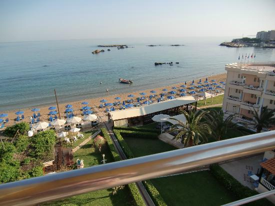 Hotel Christina: Utsikt från balkongen