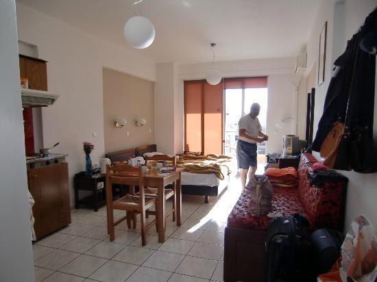 Hotel Christina: Vårt rum