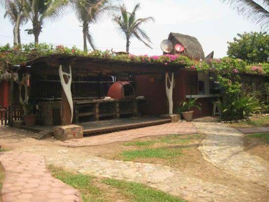 Casa Yalma Kaan: Parrilla para cocinar