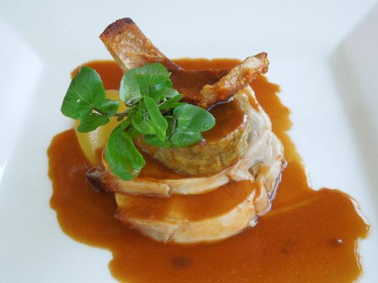 Orangery Restaurant: Roast porl