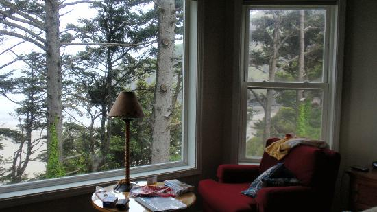 Tyee Lodge : View from the Yaquina Room
