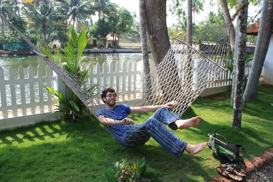 Bamboo Lagoon Backwater Front Resort: Hammock outside our room