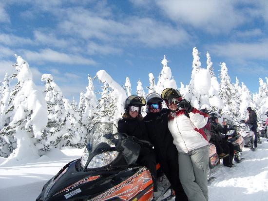 Rendezvous Snowmobile Rental