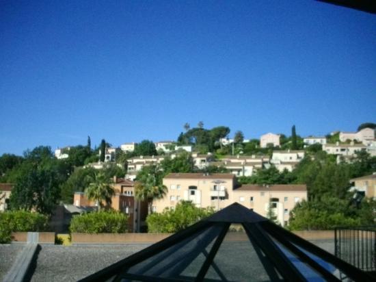 Hotel Mas de Vence : Chambre 122 - vue