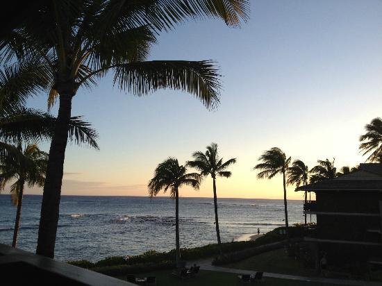 Koa Kea Hotel & Resort: Wunderbare Aussicht vom Zimmer