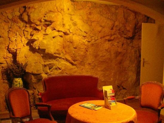 Hotel Mas de Vence : Dans la roche