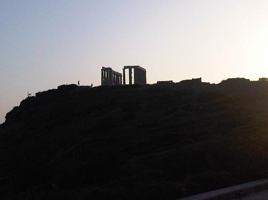 Athens Private Taxi Group : cape sounio sunset