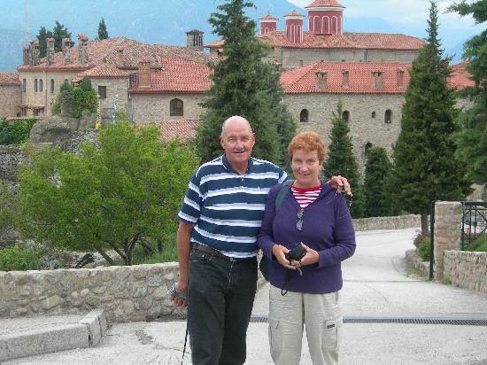 Athens Private Taxi Group : Bill and Ingrid fugate