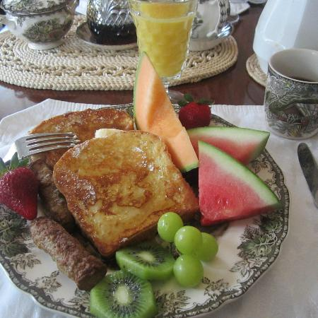 Kilby House Inn: breakfast