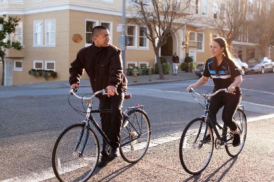 Hotel Drisco: Free Bikes