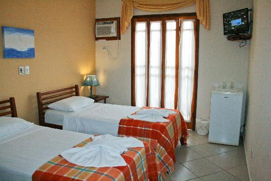 Pousada Marazul: Double  single room