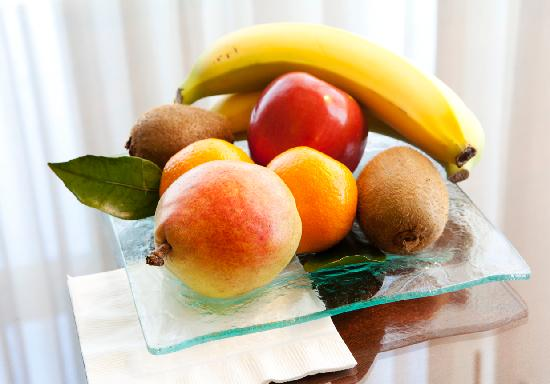 Hotel Drisco: Fruit on arrival, in our suites