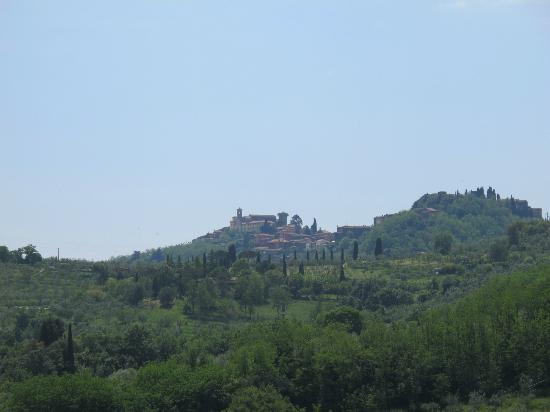 Il Cantastorie: The view from the Agriturismo