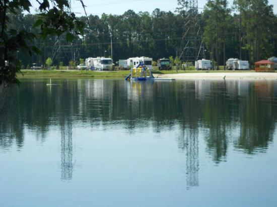 Flamingo Lake RV Resort : view from our RV spot