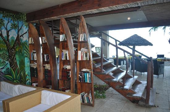 Anjiamarango Beach Resort: La bibliothèque