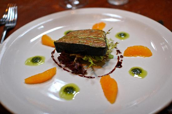 Papamacs: nori wrapped  home smoked trout terrine