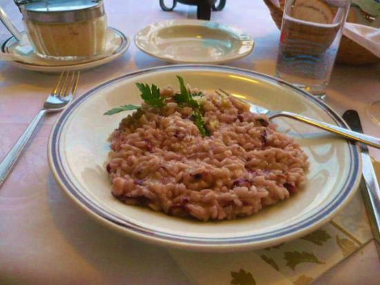 Hotel Rentschnerhof: Rosemary Risotto appetizer was delightful