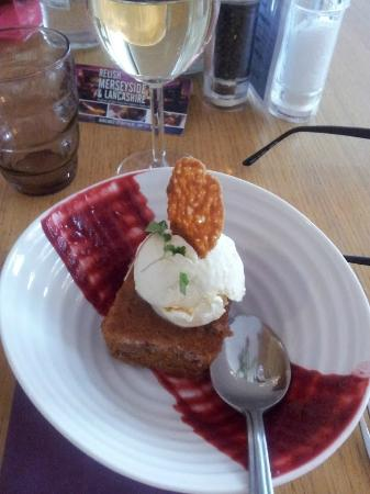 Peninsula Dining Room: The de-constructed Bakewell