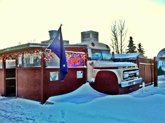 Burger Bus, Kenai, Alaska