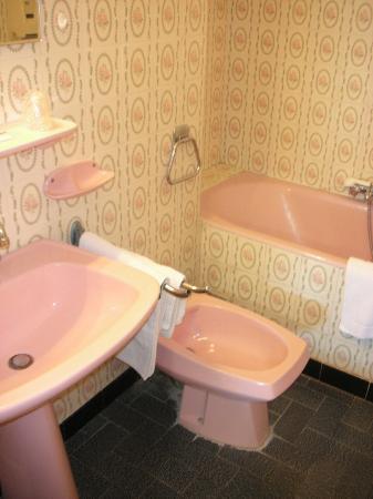 Hotel Les Myrtes: Il bagno rosa