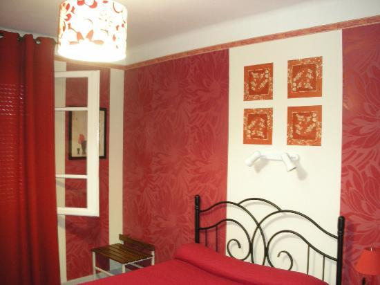 Hotel Les Myrtes: La nostra camera