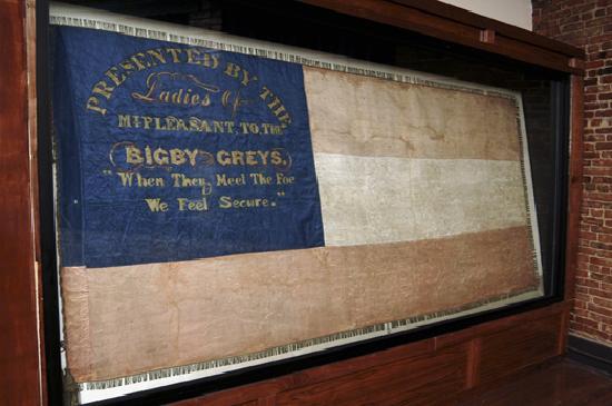 Columbia, TN: Bigby Grey Flag, Mt. Pleasant, TN
