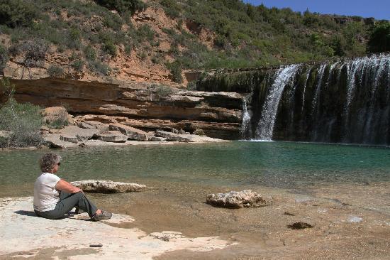 Hosteria de Guara: El Salto falls near Bierge