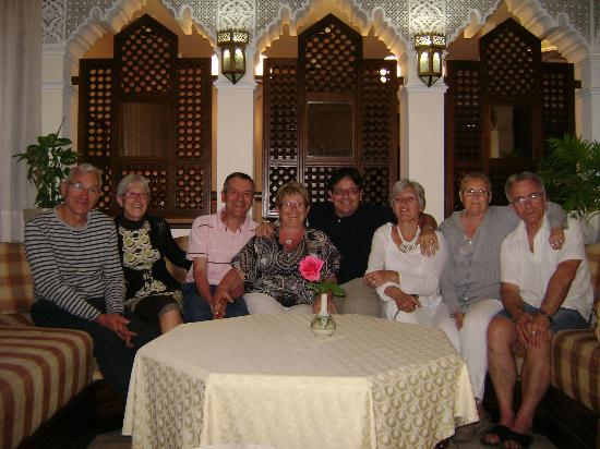 Aferni Hotel: le groupe des 8