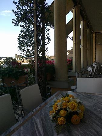 Residenza Paolo VI: Балкон