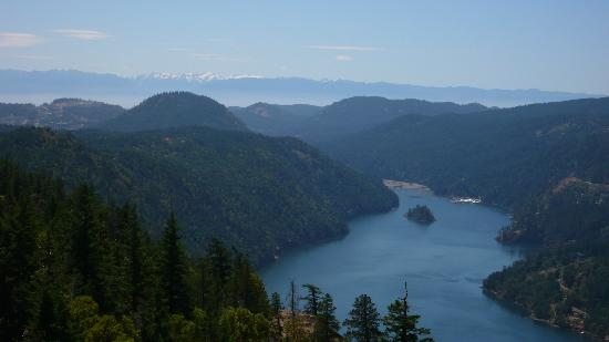 Central Saanich, Canada: Finlayson Arm from Jocelyn Pike