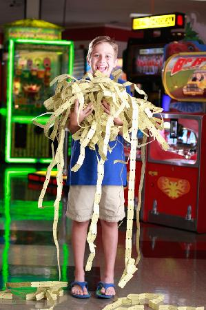 Family Fun Center: Earn tickets and win great prizes