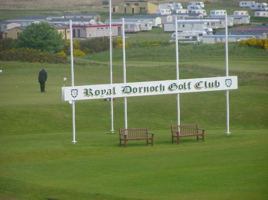 Royal Golf Hotel: Royal Dornoch Golf Course