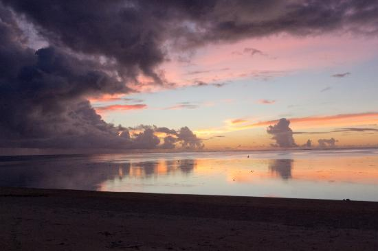 Etu Moana: Sunset from beach