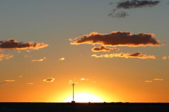 Rambla de Montevideo: Amanecer