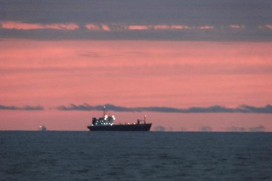 Rambla de Montevideo: LLegando al puerto de Montevideo