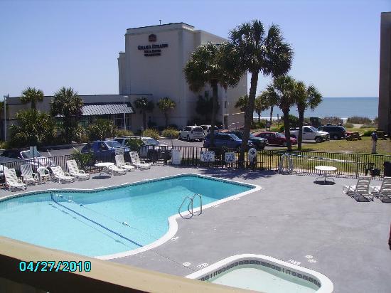 Viking Ocean Front Motel Pool
