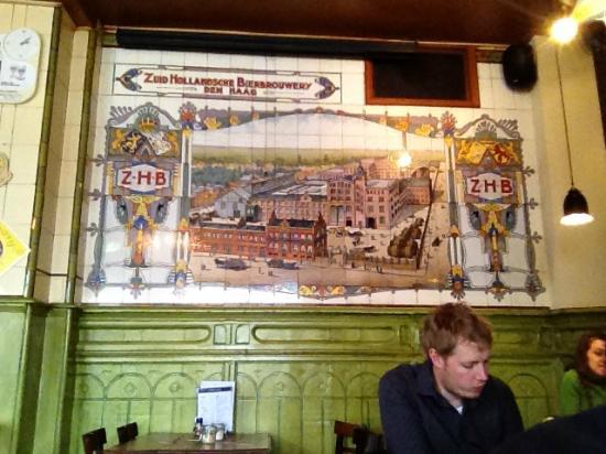 't Loosje: Wall Tile Mosaic