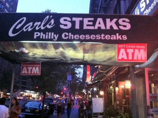 Carl's Steaks, New York City - Murray Hill - Menu, Prices