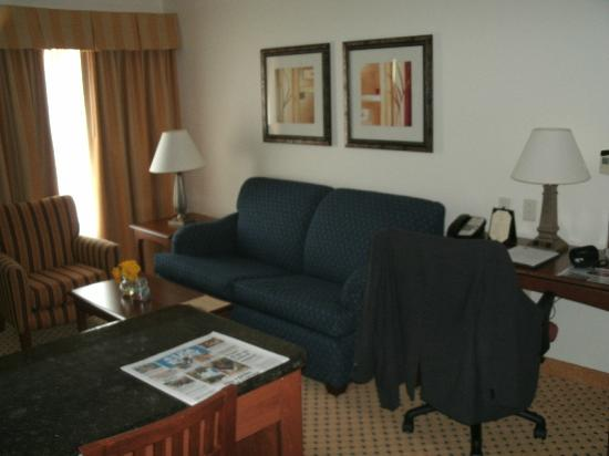 Residence Inn DFW Airport North/Grapevine: Studio Living Room + Desk + Bar