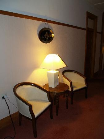 Waitomo Caves Hotel: Hallway