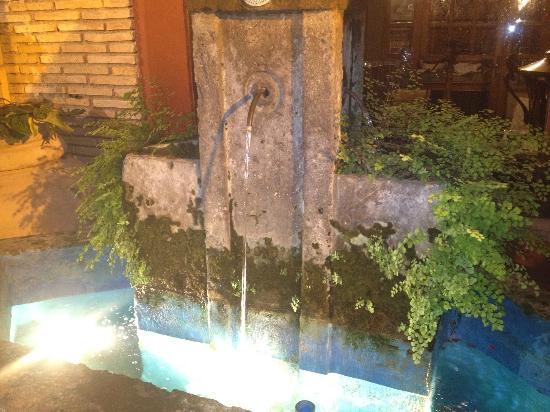Checco dello Scapicollo : la fontana