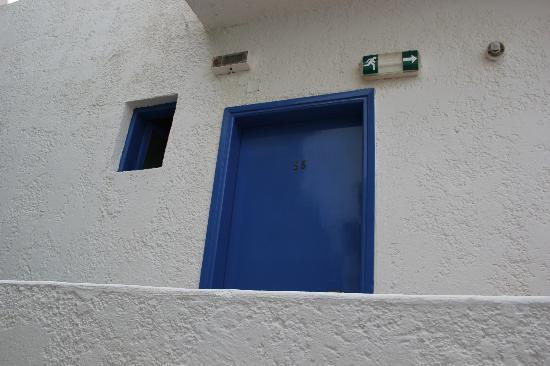 Hotel Petra: Eingang zum Zimmer