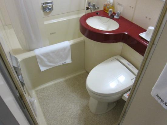 Hotel Alpha-One Takayama Bypass: トイレの様子。