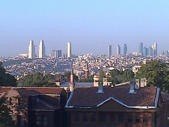 Hotel Mosaic: Vista dal Balcone della mia camera 3