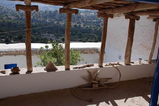 Les Terrasses de l'Atlas: Terrasse traditionnelle