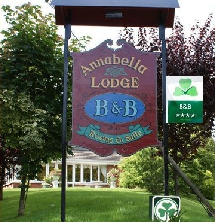 Annabella Lodge B&B: Approved as four star by failte Ireland