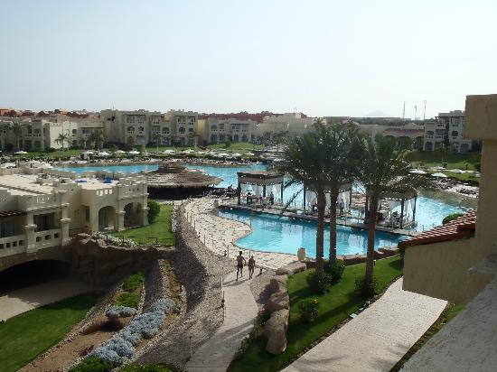 Rixos Sharm El Sheikh: Aussicht aus unserem Zimmer